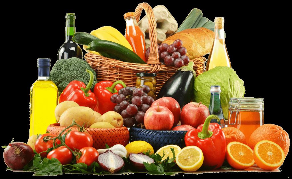 Citrus Fruits, root vegetables, leafy greens.