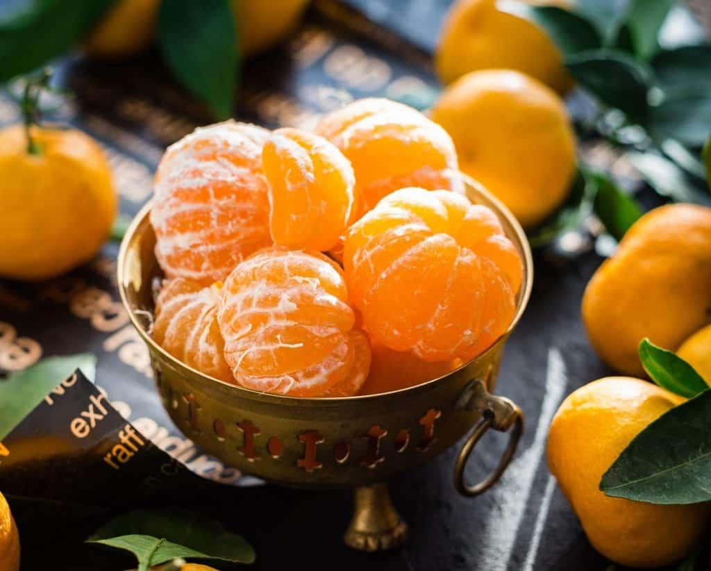 Mandarins in a bowl